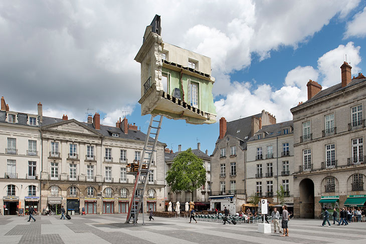 House Installation by artist Leandro Erlich