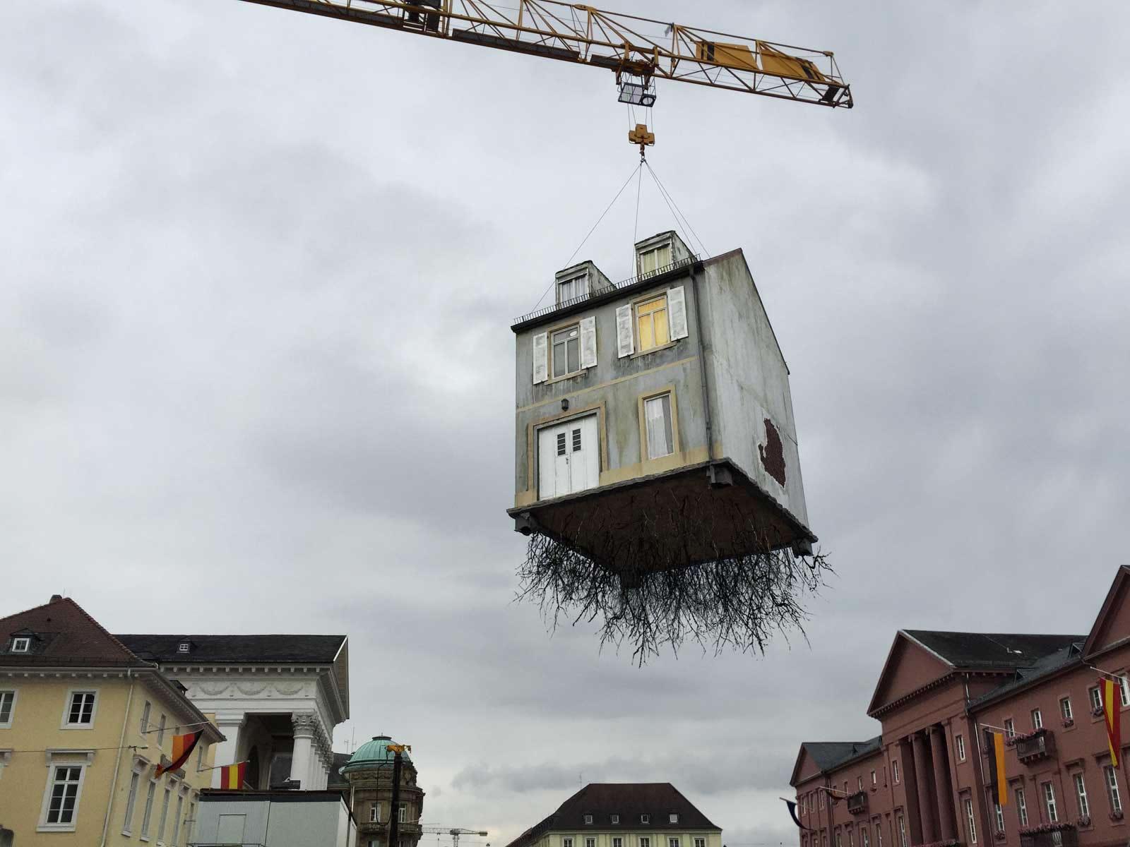 House Installation by artist Leandro Erlich